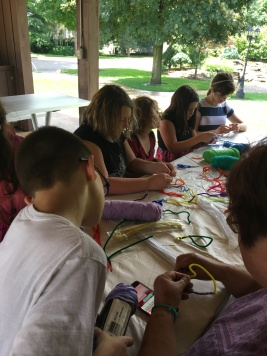 Craft Day at the Park June thru July